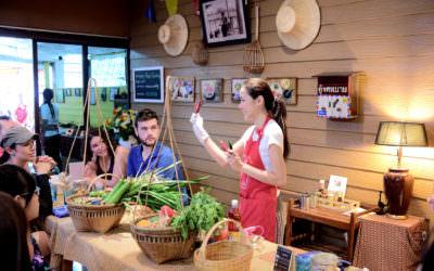 泰國景點 X Sompong Thai Cooking School X 一日廚藝課程,帶妳從旅人進化為在地人!