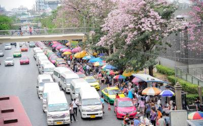 曼谷 X 北邊 X 洽圖洽、丹嫩莎朵、安帕瓦、美功鐵道