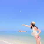 沖繩 X 安良波公園 X 南國限定海灘、陽傘、棕梠樹