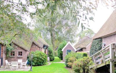 荷蘭住宿 X 羊角村Hotel de Pergola X 感受童話故事小鎮的靜與美