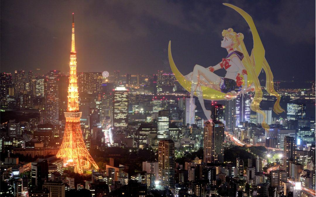 東京夜景 X 六本木之丘森大樓 X 美少女戰士20周年特展