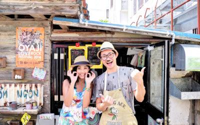 沖繩美食 X 越南餐車 CO'M NGON X 越南三明治 MIX 沖繩風味小餐車