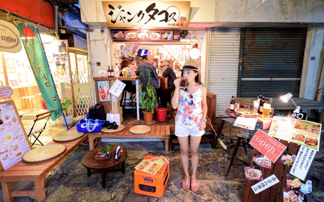 沖繩美食 X Junk Tacos X 下班後的牧志公設市場居酒屋