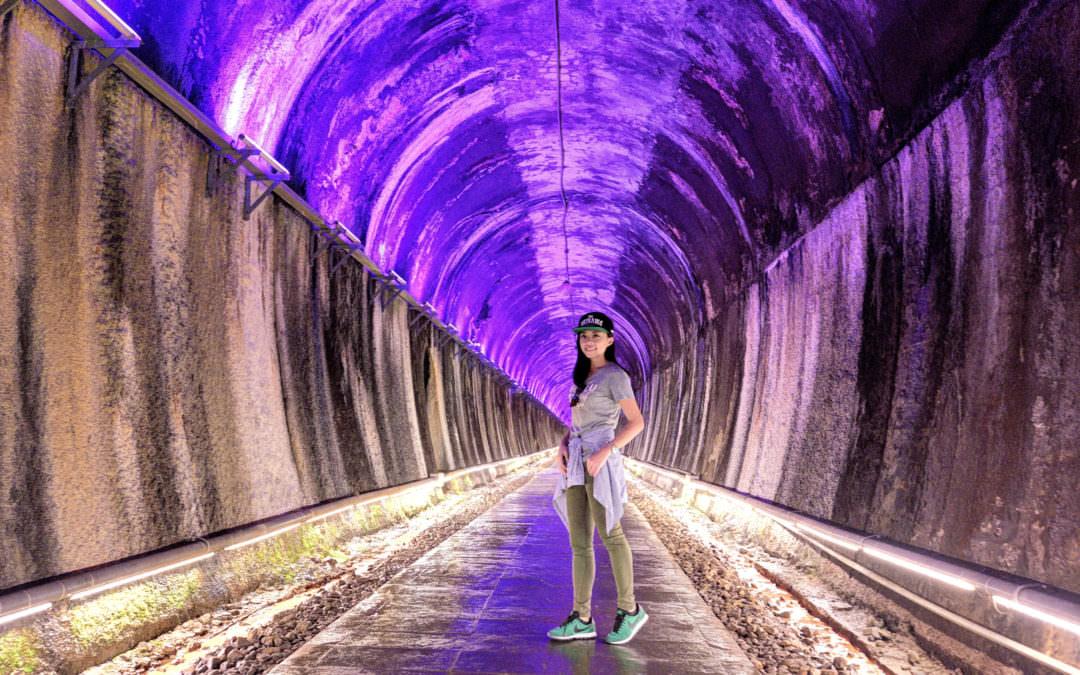 苗栗景點 X 功維敘隧道 X 照亮時光的彩虹隧道