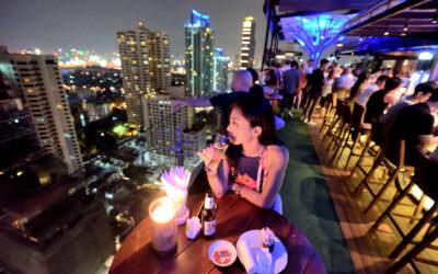 曼谷酒吧 X Above Eleven X 270 度的空中花園