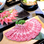 NikuNiku 台中肉肉燒肉 : 大快朵頤
