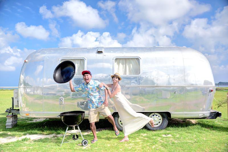 ISLAND MAGIC SENAGAJIMA 沖繩瀨長島! 來去露營車住一晚 BBQ