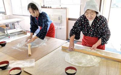 受保護的文章:秋田縣大館市|陽気な母さんの店體驗工房 ・ 手打蕎麥麵