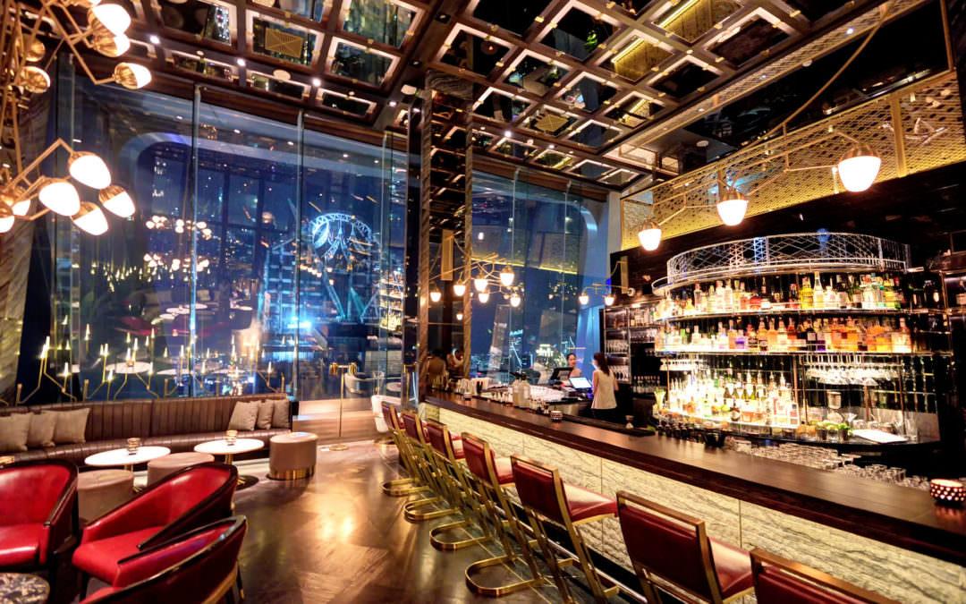 曼谷|高空酒吧 Penthouse Bar + Grill ・ 走進曼谷的璀璨星空夜景裏