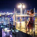 柬埔寨・金邊|高空酒吧 Eclipse Sky Bar 佇立在金邊天際線