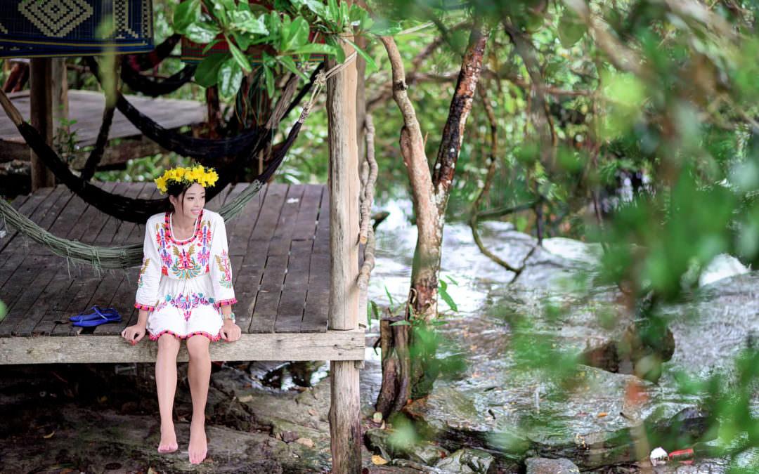 柬埔寨・西哈努克|科保柴瀑布 kbal chhay waterfall、金銀灣王子島 Golden Silver Gulf
