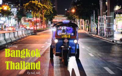 曼谷|嘟嘟車夜遊曼谷 ・ 體驗道地泰式夜生活
