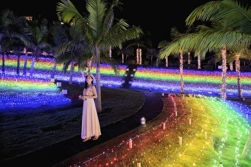 沖繩,Kanucha Bay Hotel,卡努佳度假村,聖誕,渡假村,星光